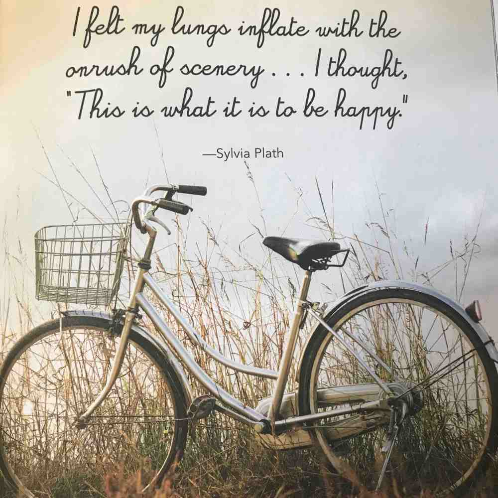 The Joy of Hygge - Sylvia Plath Quote