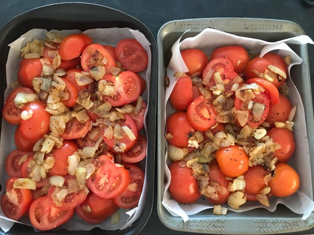 Fresh tomato passata